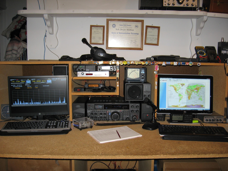 Amateur japan radio station